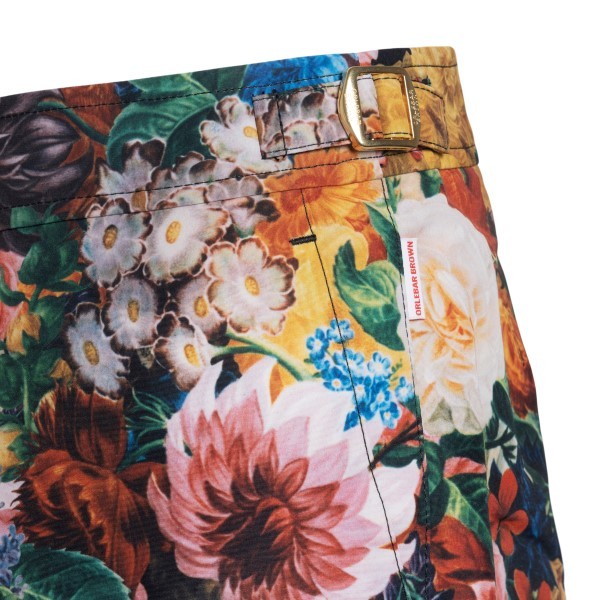 Costume with floral painting                                                                                                                           ORLEBAR BROWN