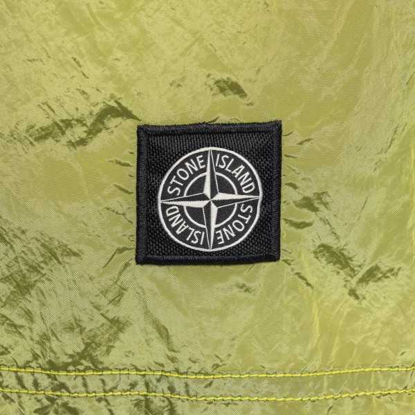 Green swimsuit with logo patch                                                                                                                         STONE ISLAND