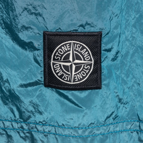 Light blue swimsuit with logo patch                                                                                                                    STONE ISLAND