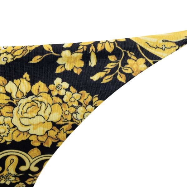 Swimsuit briefs with Baroque print                                                                                                                     VERSACE