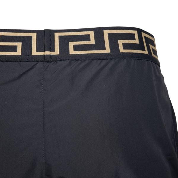 Costume da bagno nero con stampa a Greca                                                                                                               VERSACE                                            VERSACE