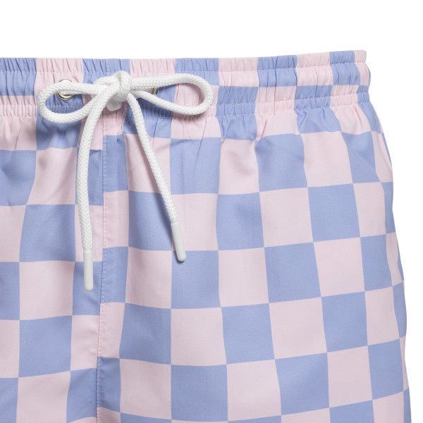 Pink and lilac checked costume                                                                                                                         LACOSTE L!VE