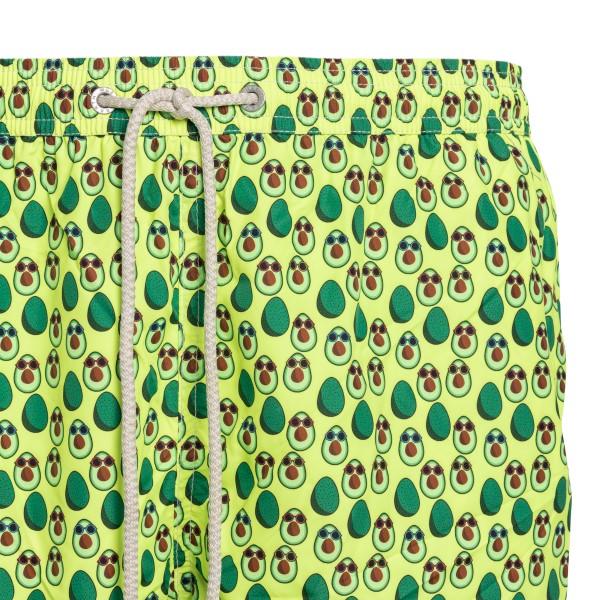 Green costume with avocado print                                                                                                                       SAINT BARTH