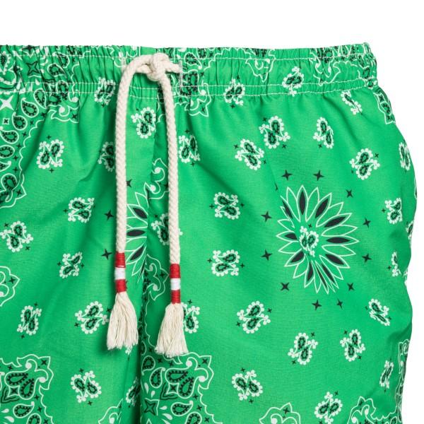 Green swimsuit with bandana print                                                                                                                      SAINT BARTH