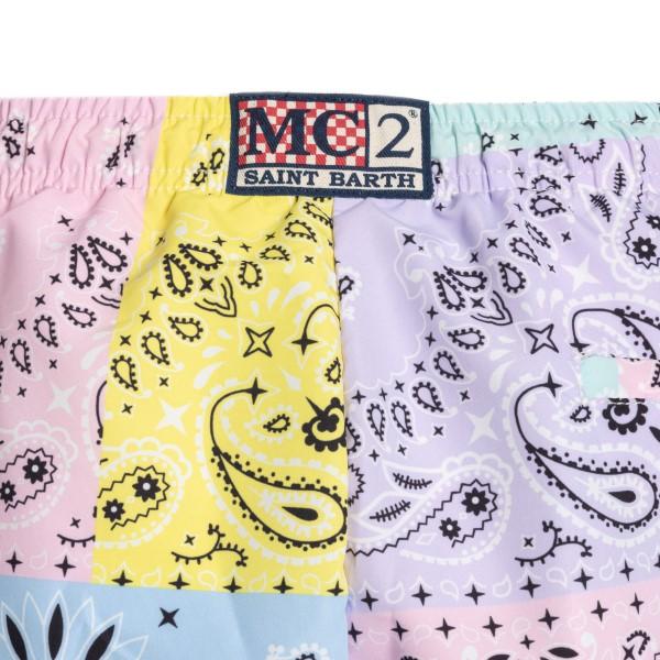 Costume multicolore con stampa bandana                                                                                                                 SAINT BARTH                                        SAINT BARTH
