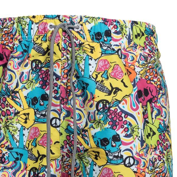 Costume multicolore con teschi                                                                                                                         BOARDIES                                           BOARDIES
