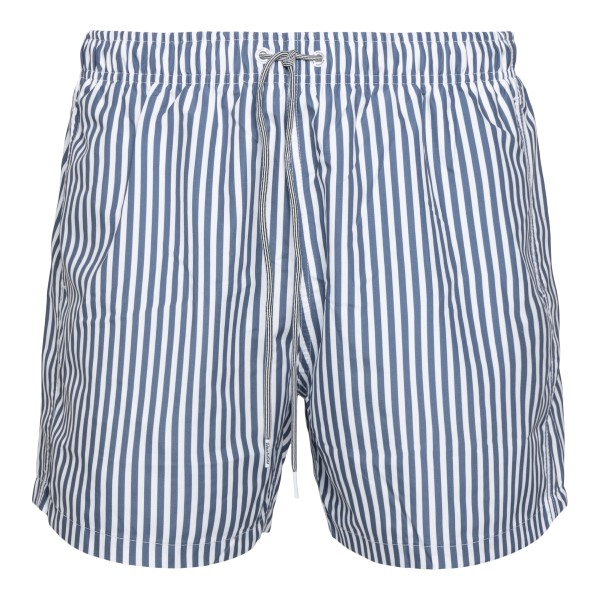Costume blu e bianco a righe                                                                                                                          Boardies BS724MID retro