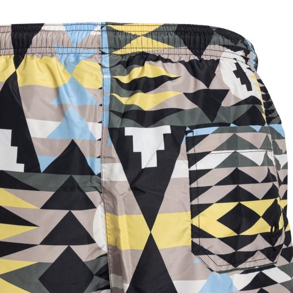 Costume multicolore con stampa geometrica                                                                                                              MARCELO BURLON                                     MARCELO BURLON