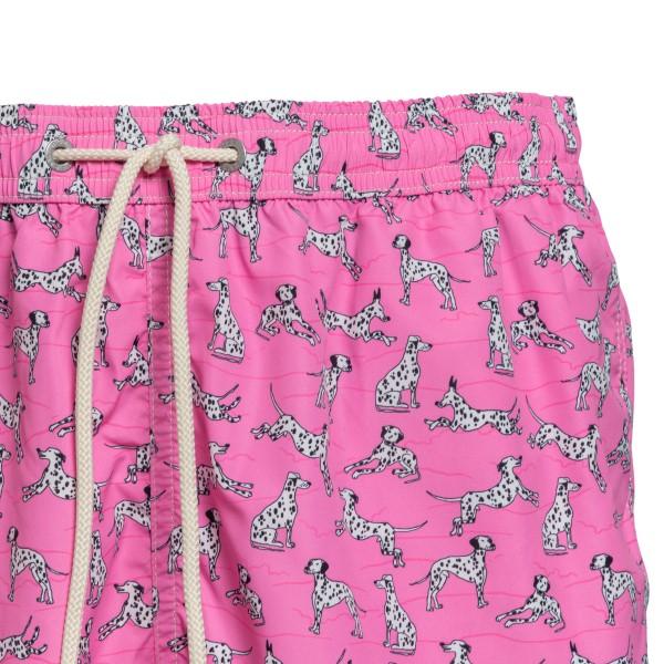 Pink costume with Dalmatian pattern                                                                                                                    SAINT BARTH