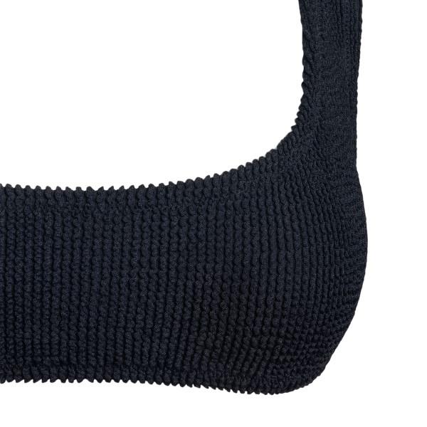 Costume nero in design a canotta                                                                                                                       REINA OLGA                                         REINA OLGA