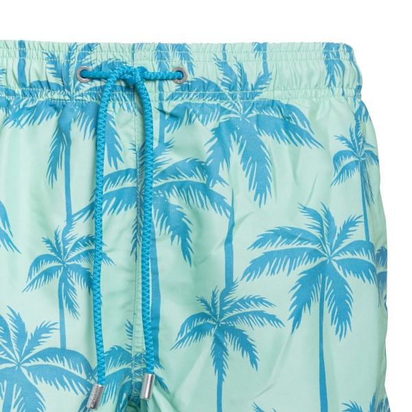 Blue costume with palm trees                                                                                                                           SAINT BARTH