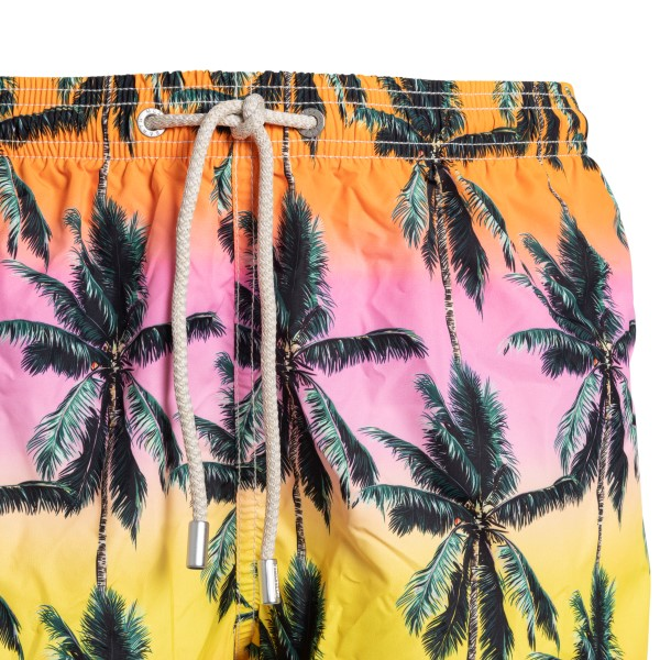 Multicolored swimsuit with palm tree print                                                                                                             SAINT BARTH