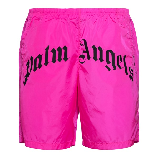 Fuchsia costume with brand name                                                                                                                       Palm Angels PMFA005S21FAB004 back