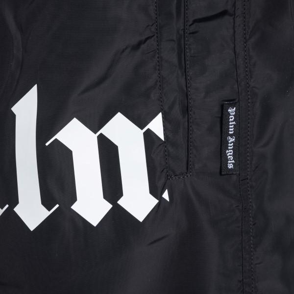 Costume nero con stampa logo scomposto                                                                                                                 PALM ANGELS                                        PALM ANGELS