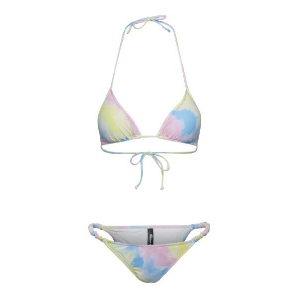Set bikini effetto tie-dye                                                                                                                            Reina Olga SCRUNCHIE retro