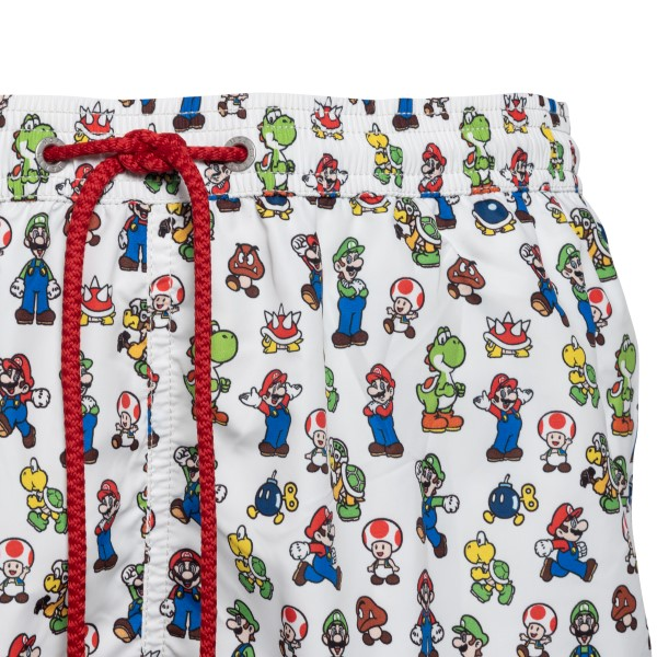 Costume bianco con pattern Super Mario                                                                                                                 SAINT BARTH                                        SAINT BARTH