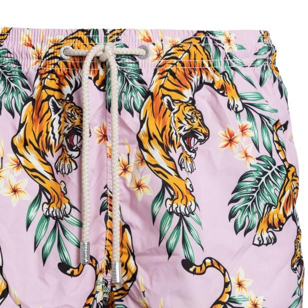 Costume rosa con stampa tigri                                                                                                                          SAINT BARTH                                        SAINT BARTH