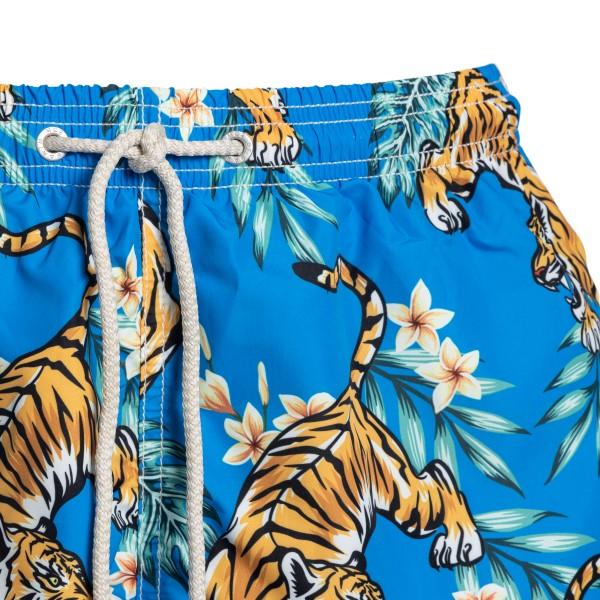 Costume azzurro con tigri                                                                                                                              SAINT BARTH                                        SAINT BARTH