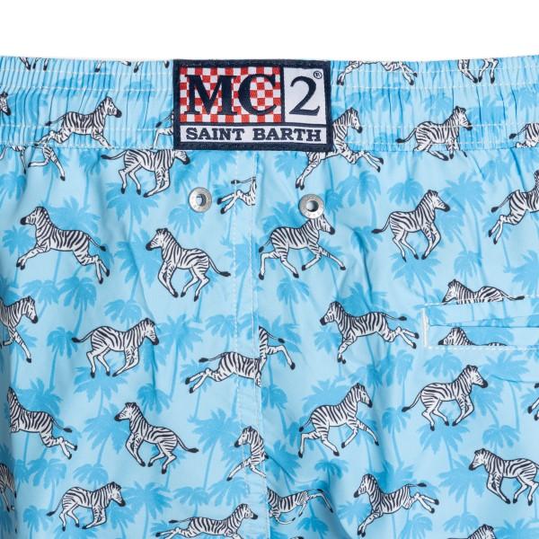 Costume azzurro con zebre                                                                                                                              SAINT BARTH                                        SAINT BARTH