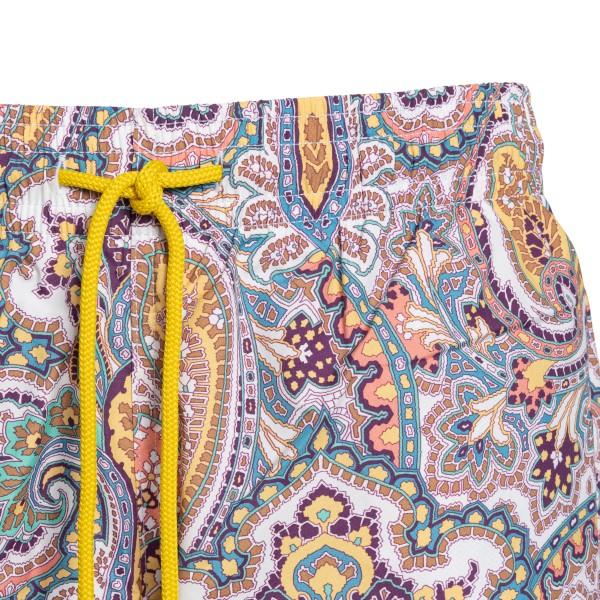Multicolored paisley print shorts                                                                                                                      ETRO
