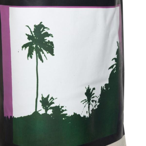 Beige shorts with print                                                                                                                                DRIES VAN NOTEN
