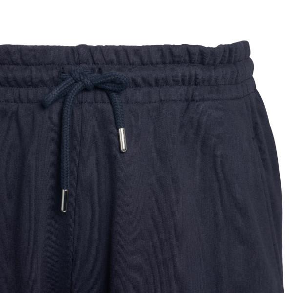 Pantaloncini blu con stampa                                                                                                                            DRIES VAN NOTEN                                    DRIES VAN NOTEN