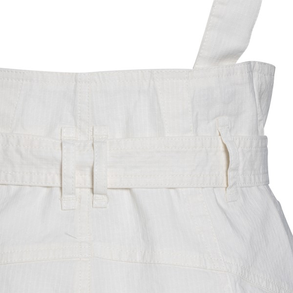 White shorts with suspenders                                                                                                                           ISABEL MARANT