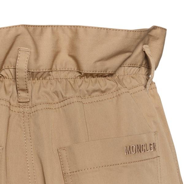 Flared beige shorts                                                                                                                                    MONCLER