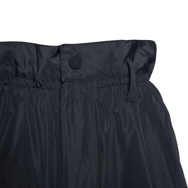 Black flared shorts                                                                                                                                    MONCLER