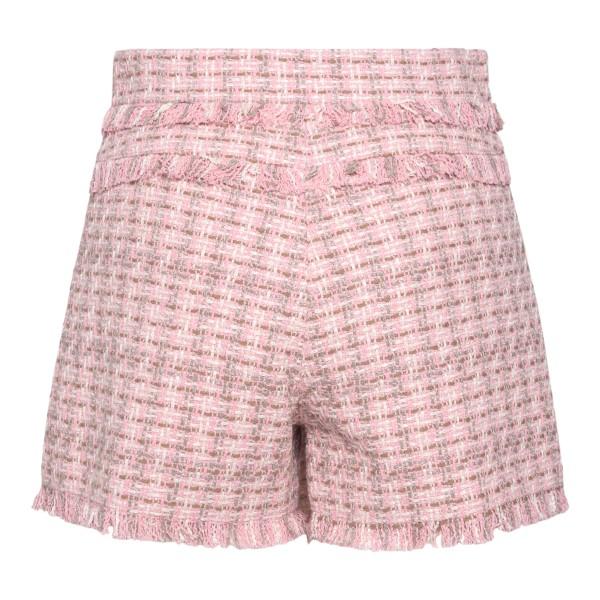 Pink tweed shorts                                                                                                                                      MSGM