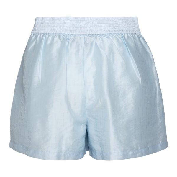 Light blue shorts                                                                                                                                      EMPORIO ARMANI