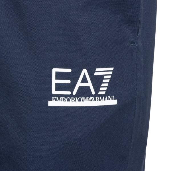 Bermuda blu con stampa logo                                                                                                                            EA7                                                EA7