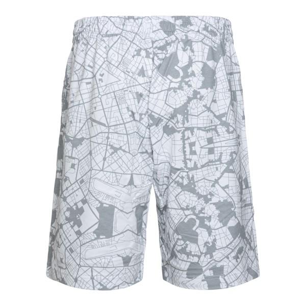 Grey sports shorts with print                                                                                                                          EA7