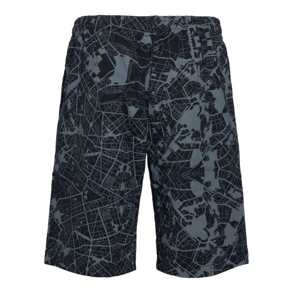 Pantaloni sportivi neri con stampa grafica                                                                                                             EA7                                                EA7