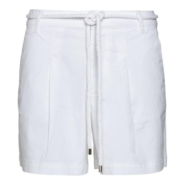 White shorts with rope belt                                                                                                                           Ea7 3KTS54 back