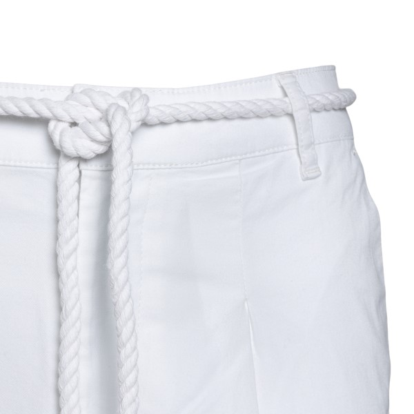 Pantaloncini bianchi con cintura in corda                                                                                                              EA7                                                EA7