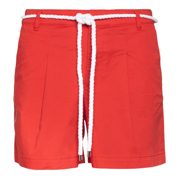 Red shorts with rope belt                                                                                                                             Ea7 3KTS54 back