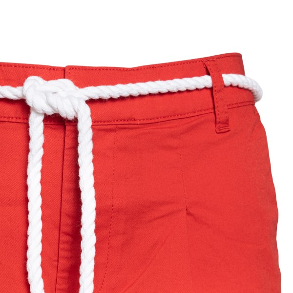 Red shorts with rope belt                                                                                                                              EA7