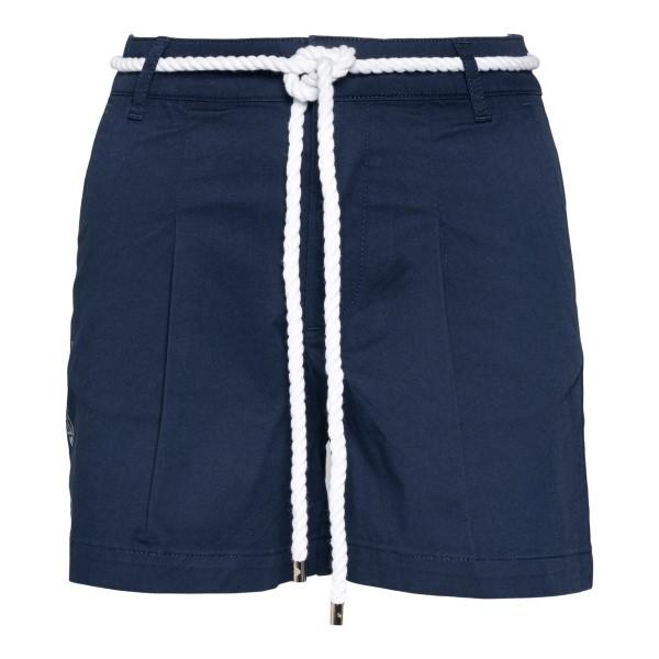 Blue shorts with rope belt                                                                                                                            Ea7 3KTS54 back