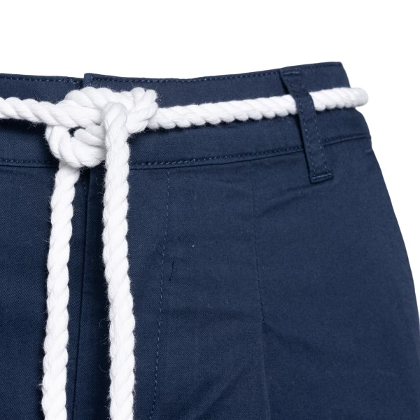 Blue shorts with rope belt                                                                                                                             EA7