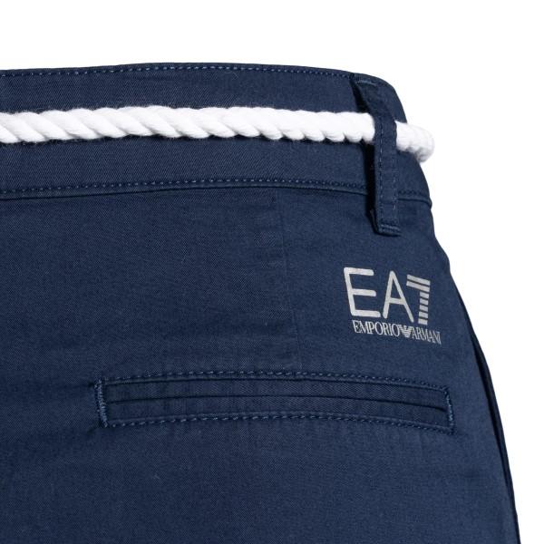 Pantaloncini blu con cintura in corda                                                                                                                  EA7 EA7