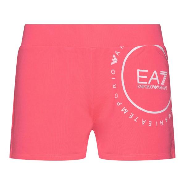 Fuchsia sports shorts with logo                                                                                                                       Ea7 3KTS60 back