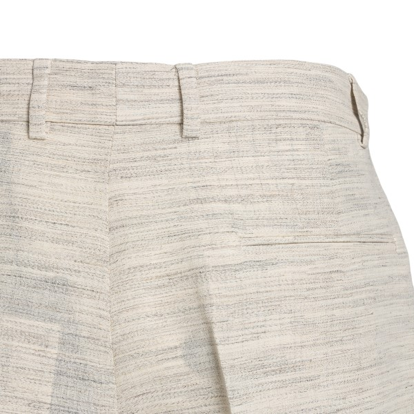 Two-tone beige and blue shorts                                                                                                                         BOTTER