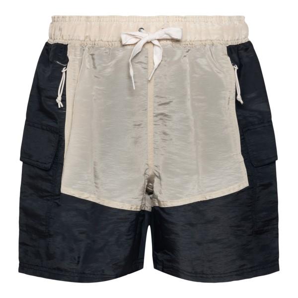 Pantaloncini neri con dettaglio beige                                                                                                                 Puma X Rhude 58906902 retro