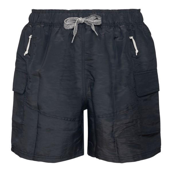 Pantaloncini neri con logo sul retro                                                                                                                  Puma X Rhude 58906901 retro