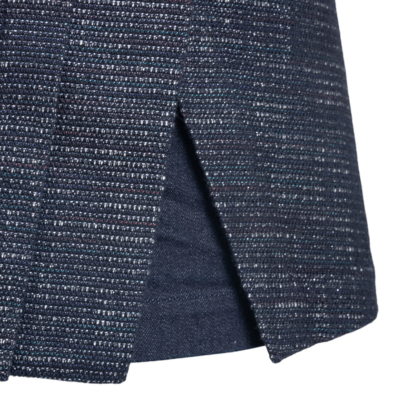 Blue mini skirt shorts                                                                                                                                 EMPORIO ARMANI