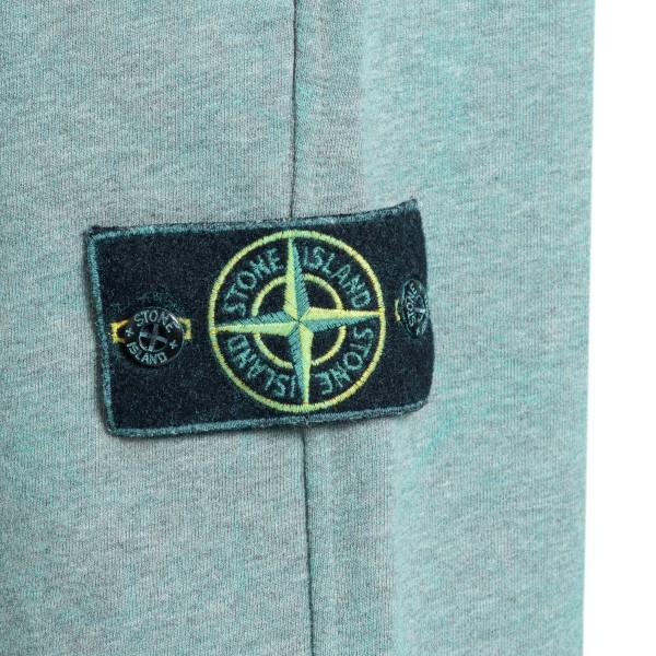 Pantaloncini azzurri con patch logo                                                                                                                    STONE ISLAND                                       STONE ISLAND