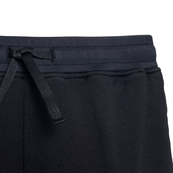 Pantaloncini neri con patch logo                                                                                                                       STONE ISLAND SHADOW PROJECT                        STONE ISLAND SHADOW PROJECT