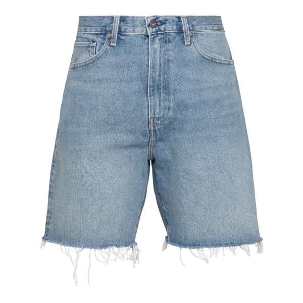 Bermuda shorts in blue jeans                                                                                                                          Levi's 84592 back