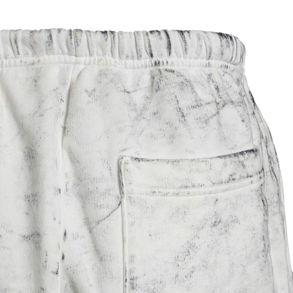 White distressed sports shorts                                                                                                                         CHOICE